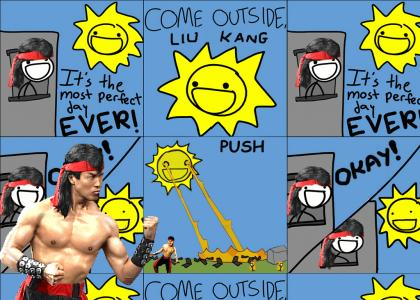 Come outside!