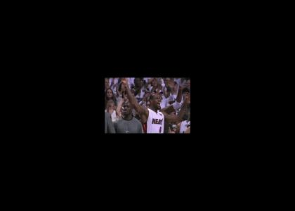 LEBRON IS DANCING IN THE MOONLIGHT