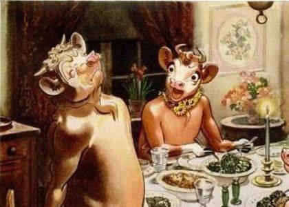 Elsie Borden Cow