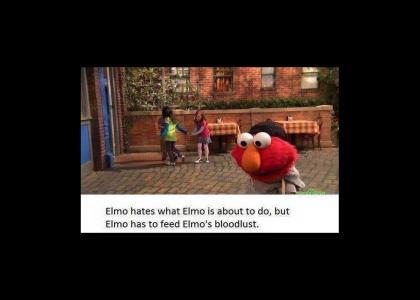 elmo is dexter, dexter is elmo....