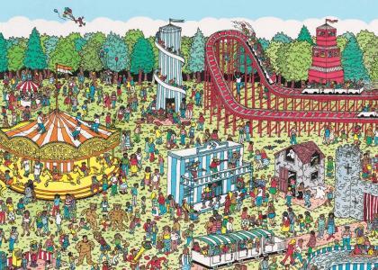 Where's Waldo theme park