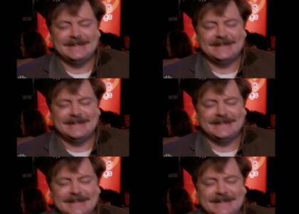 Ron Swanson Drunk Dance