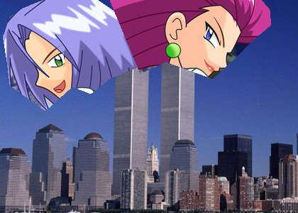 Team Rocket caused 9/11