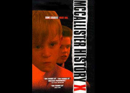 MCCALLISTER HISTORY X