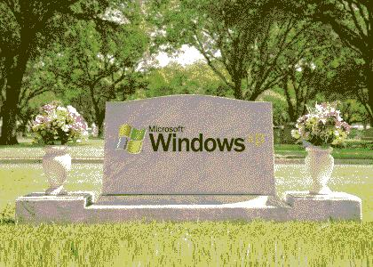Windows XP R.I.P. :(