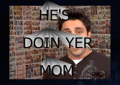 Ray William Johnson does your Mom as you cry in your room