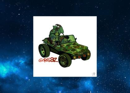 Gorillaz in Outer Space