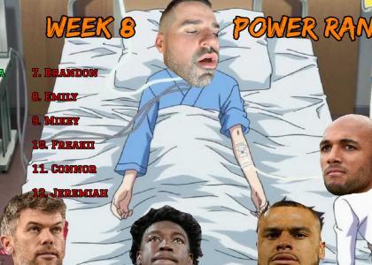 Power Rankings Week 8