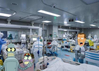 Robot House Did Coronavirus