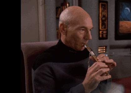 Captain Picard Finds His Muse