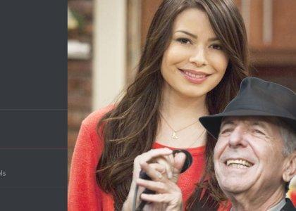 Leonard Cohen visits a lewd Miranda Cosgrove discord