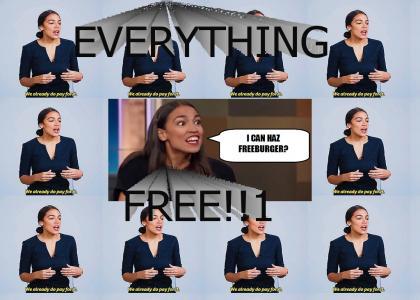 Alexandria Ocasio-Cortez Loves America