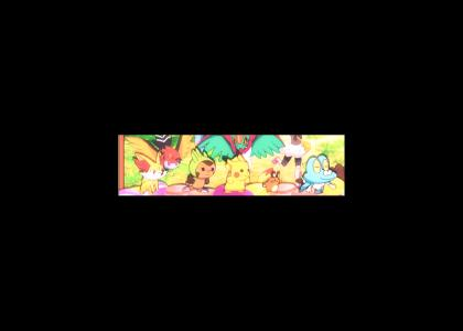 Pokemon spinning