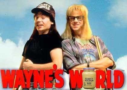 Wayne's Funny Grey Poupon Joke