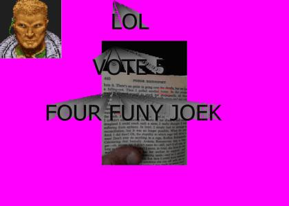 FUNY JOEK ABOUT BONERS 2 (LOL) (VOET 5)