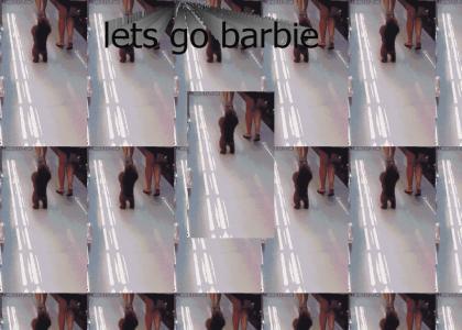 Lets go Barbie!