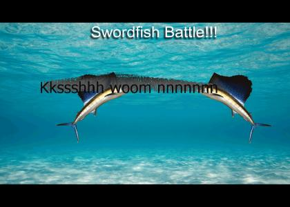 Sword Fish Battle