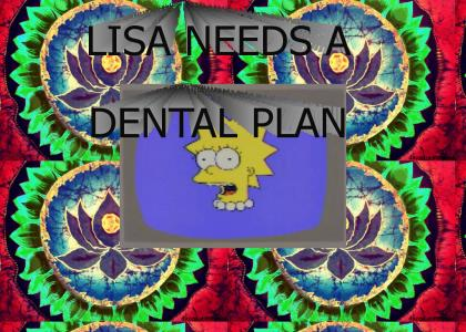Lisa in the Sky With Dental Plans