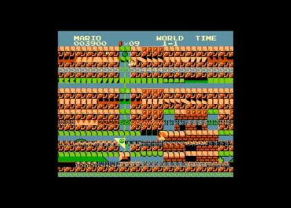 NES Super Glitch Bros.