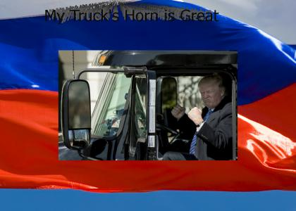 Big Red Trump Truck