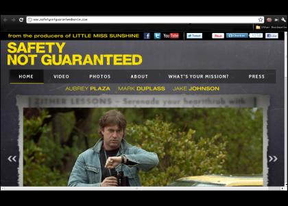 Safety not guaranteed : the movie
