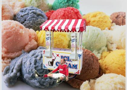 Rooney gets you an ice cream
