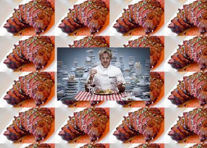 How's the steak Gordon?