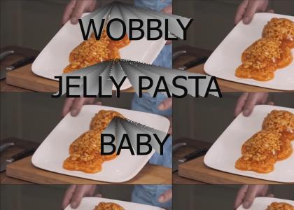 James May Makes a Wobbly Jelly Pasta Baby