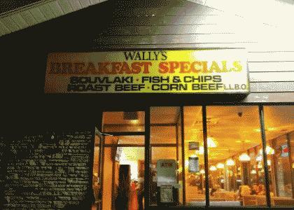 Breakfast at Wally's