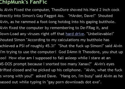 Alvin Fixes The Computer - A FanFic