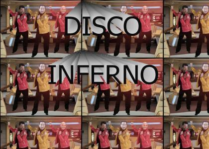 Disco on the USS Infernal