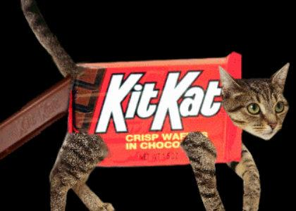 Corey Feldman steals a Kit Kat bar from Krangar18 while watching more sports on TV