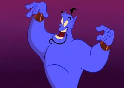 Genie Works His Magic
