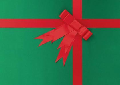 Happy Holidays from Jeff Goldblum