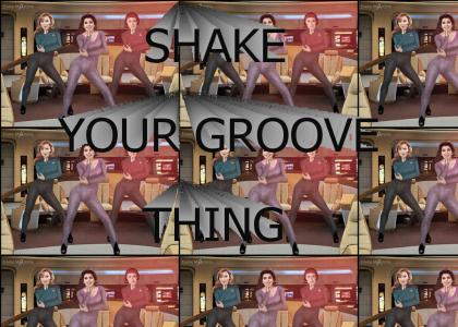 Shake your Star Trek groove