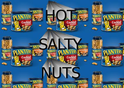 hot salty nuts