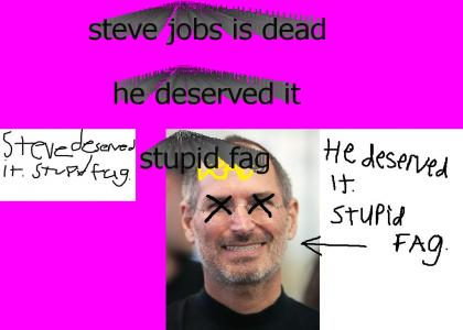 steve jobs deserved it