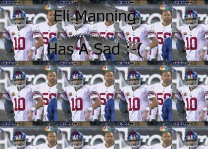 Eli Has A Sad Redux
