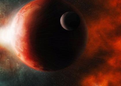 hot rocky planet