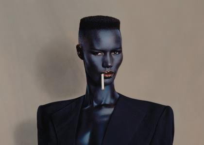 Grace Jones explodes on Christopher Walken