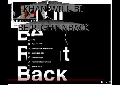 Khan will be right back (LOL modern EPIC meme)