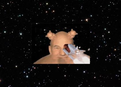 Captain Picard Space Shuttle