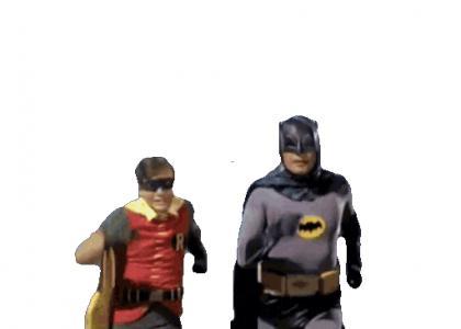 To the Batmobile!