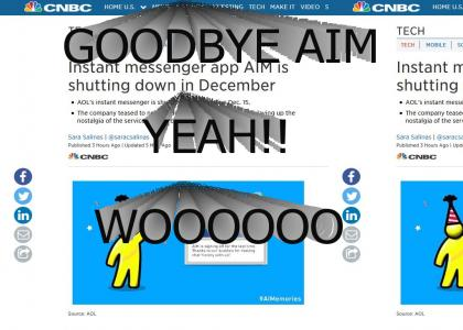 Goodbye AIM :'(