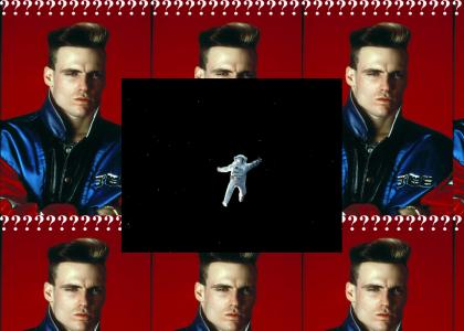 Vanilla Ice Ponders Major Tom's Inertia