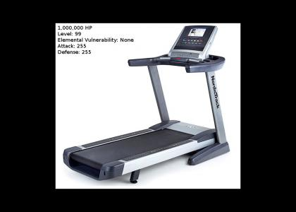 How fat people see treadmills