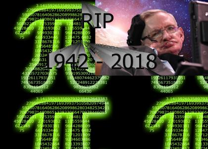 Stephen Hawking died on pi day