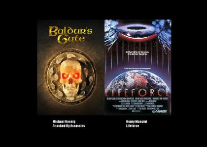 Baldur's Gate vs. Lifeforce