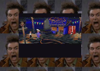 Stan sells FACEMELTERS to Guybrush