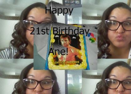 Happy Birthday, Ane!!